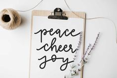 Pinterest Facebook Twitter Google+ Email 39shares 39 0 0 0 0 Happy Friday paper crafters! You know what Friday means? Freebie Friday and today I'm dishing out another hand lettered SVG cut file. This Christmas themed SVG has 3 of my favorite Christmas words: peace, cheer and joy. Pin it for Later This file is …