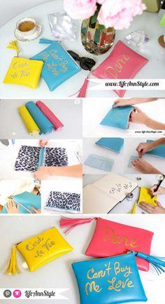 DIY Rebecca Minkoff Tassel Clutch | lifestyle