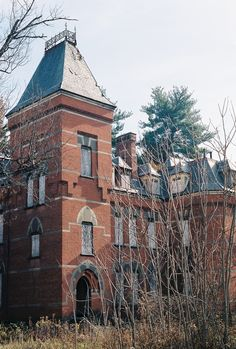 Hudson River State Hospital, south wing / Poughkeepsie, NY