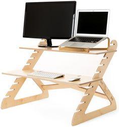 Readydesk Adjustable Standing Desk #reviewwireguide #homeoffice #forthehome #desk #office #birch