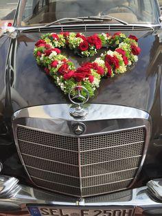 ein Herz so groß wie die Liebe #oldtimer#hochzeitsauto#wedding #hochzeitmercedesbenz#mercedesbenzclassic#fischer-classic#brautauto