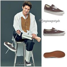 #kimjaejoong with #VANS Anaheim Factory Authentic 44 DX for @harpersbazaarjapan June '17 issue. Price: $75.00 at vans.com. Credit: @harpersbazaarjapan and @vans. #jaejoong #김재중 #ジェジュン #korean #celebrity #singer #singersongwriter #theoneandonly #mensfashion #gorgeous #handsome #talent