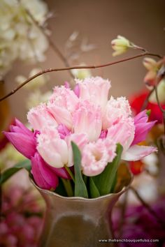 These fringed tulips would be gorgeous in a bouquet
