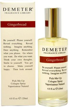 women demeter gingerbread cologne spray 4 oz