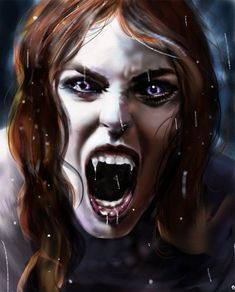 Vampire Art by Lily Fitch