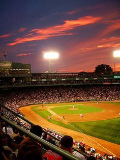 Fenway Park - Home of the Boston Red Sox.  Boston Massachussets
