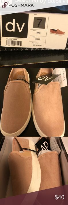 best sneakers ed57f e23b9 DV Dolce Vita blush suede sneakers new in box