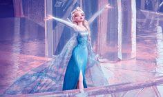 「アナと雪の女王」バンザイアート
