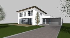 Einfamilienhaus Garage Doors, Mansions, House Styles, Outdoor Decor, Home Decor, St Louis, Real Estate, Detached House, Decoration Home