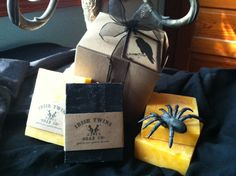 Our Spooky Halloween Gift Pack! $12.50  http://www.irishtwinssoaps.com/halloween-gift-pack/