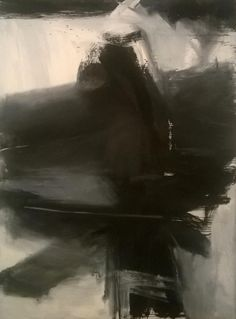 Franz Kline, Black, White, and Gray, Acrylic Painting Lessons, Watercolor Paintings Abstract, Watercolor Artists, Landscape Paintings, Abstract Art, Painting Art, Franz Kline, Willem De Kooning, Indian Paintings