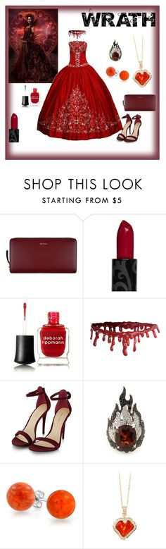 """""""7 deadly sins- Wrath"""" by coralblossom ❤ liked on Polyvore featuring Paul Smith, Deborah Lippmann, Garrard and Bling Jewelry"""