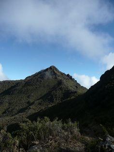 The second highest point in Latin America, Cerro Chirripo