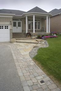 DRIVEWAY ASPHALT AND STONE EDGING - Google Search