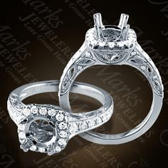 Marks Jewelers: Details | Diamond Engagement Rings (140-02320)