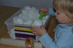 Snow Sensory Tub 2019 Simple Fun for Kids: Snow in a Tub an Outdoor Activity Indoors The post Snow Sensory Tub 2019 appeared first on Toddlers ideas. Indoor Activities For Toddlers, Pre K Activities, Infant Activities, Sensory Tubs, Sensory Motor, Messy Play, Toddler Stuff, Kid Stuff, Baby Toys