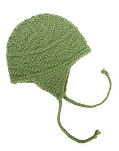 Hemlock Bough Earflap Hat Owool pattern