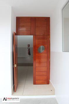 Puertas interiores ULADECH Católica Lockers, Locker Storage, Cabinet, Furniture, Home Decor, Interior Doors, Clothes Stand, Decoration Home, Room Decor