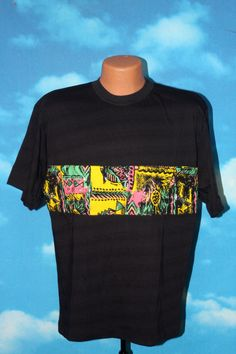 a51698e3a9c Vintage 1990s Saved by the Bell - Zack Morris - Tammmuori Medium Black T- shirt