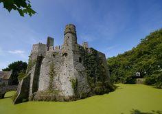 France, Castle, Pirou, Moat, Tower, Pierre #france, #castle, #pirou, #moat, #tower, #pierre