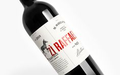 Winemaker M. Wolland blends his own signature wine based on the best grapes from traditional Italian wine regions. Each bottle is divided in two halfs' telling the story about both the wine and the winemaker.