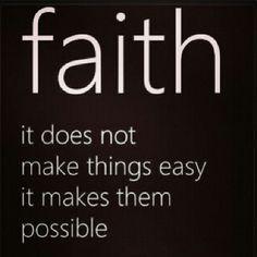 Faith!!