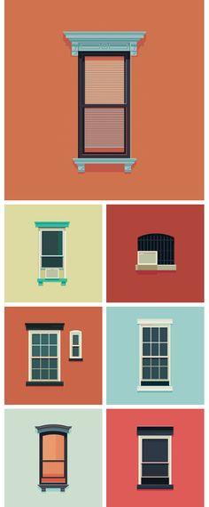 The Windows of New York http://www.windowsofnewyork.com/