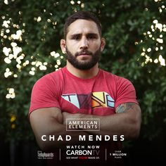 Hunt hard. Train harder. See #ChadMendes tell it like it is, only on #CarbonTV.com!