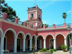 """""""""""Patio de Honor"""""""" Palacio San Jose, Concepcion del Uruguay, prov. Entre Rios, Argentina"""