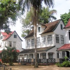 Paramaribo, Suriname | Suriname is also one of the most ethnically and culturally mixed countries in the world. In Paramaribo, the capital of this Dutch speaking nation of about 492, 000 people, and architecture explicitly reflects the country's ethnic and religious diversity.
