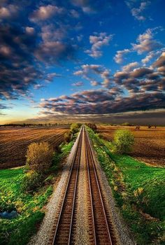 Double Tracks In Wisconsin