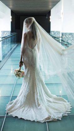 Vestido de novia Allure Bridals modelo C302 disponible seminuevo en la tienda de novias De Novia a Novia. San José, Costa Rica.