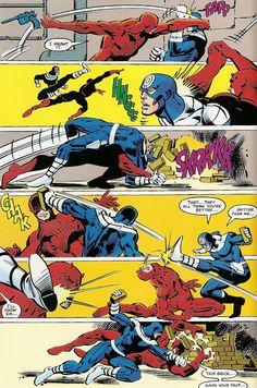 Daredevil vs Bullseye by Frank Miller [part 3]