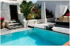 An Oasis of relaxation in Santorini, Mansion Sophia..