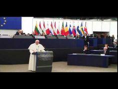 Papa Francisco visita al parlamento europeo español - YouTube European Council, European Parliament, Papa Francisco, Youtube, Youtubers, Youtube Movies