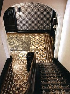 AphroChic: Update Your Floors With Striking Patterns