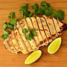 """Cilantro-Lime Grilled Chicken 
