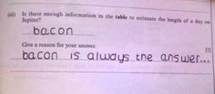 funny test answers hahaha