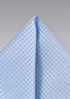 Ziertuch Struktur-Muster eisblau