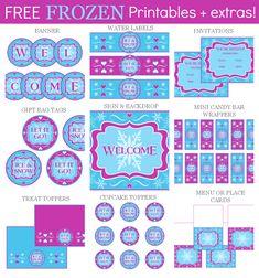Fabulous Frozen Party Ideas!   Printabelle