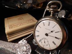 1898 Antique Waltham 15 Jewels 15s 14.83mm #5824 Pocket Watch Serial #13453679 #AmericanWaltham