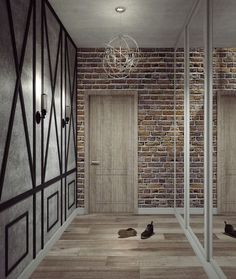 прихожая +в стиле лофт +своими руками Lofts, House Entrance, Entrance Hall, Modern House Plans, Tiny House Plans, Loft Style, Fashion Room, Decoration, Apartment Design