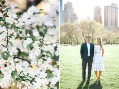 This Springtime Engagement Session is Why We Love New York – Style Me Pretty