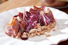 Farro salad from Seamus Mullen. (Photo: Tony Cenicola/The New York Times)