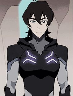 Keith in his Blade of Marmora armor from Voltron Legendary Defender