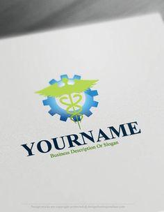 Free Logo Maker Medical Logo Template