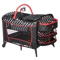 Mickey-Mouse-Playard-Disney-Baby-Pack-N-Play-Pen-Bassinet-Changer-Crib