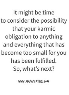 Shedding our karmic obligations + making space for new life to shine through.