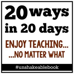 """The online book club starts in July! Read """"Unshakeable"""" and discuss in a fun, private Facebook group."""