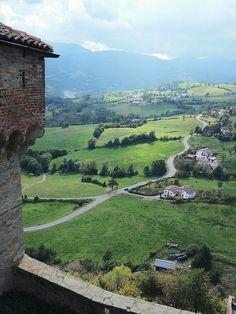 Vista dal Castello di Bardi